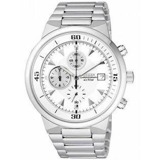 Citizen  mat rustfri stål quartz  Herre ur, model AN3371-54A