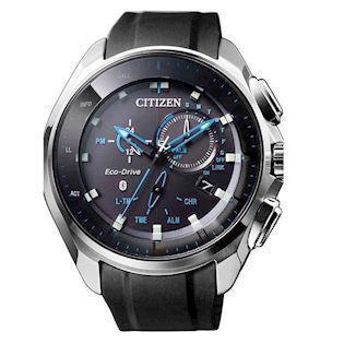Citizen Eco-Drive Bluetooth mat rustfri stål Eco-Drive Quartz Herre ur, model BZ1020-14E