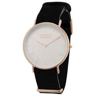 Axcent of Scandinavia Career forgyldt rustfri stål Quartz Unisex ur, model IX5670R-03