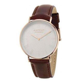 Axcent of Scandinavia Career rosa forgyldt rustfri stål Quartz Unisex ur, model IX5690R-06
