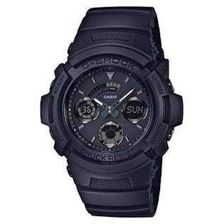Casio G-Shock mat sort resin med stål quartz multifunktion (4778) med radio styring Herre ur, model AW-591BB-1AER