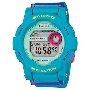 Casio Baby-G lyse blå quartz multifunktion (3429) Dame ur, model BGD-180FB-2ER