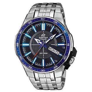 Casio Edifice mat rustfri stål quartz multifunktion (5474) Herre ur, model EFR-106D-1A2VUEF