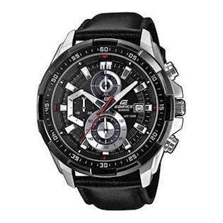 Casio Edifice satineret rustfri stål quartz med chrongraph (5150) Herre ur, model EFR-539L-1AVUEF