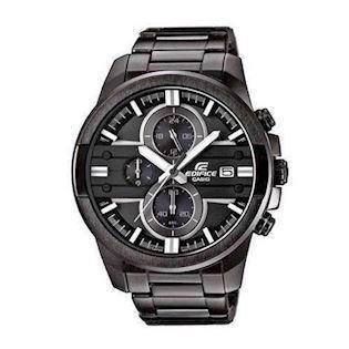 Casio Edifice IP sort rustfri stål quartz med chrongraph (5451) Herre ur, model EFR-543BK-1A8VUEF