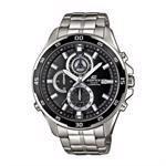 Casio Edifice satineret rustfri stål quartz med chrongraph (5372) Herre ur, model EFR-547D-1AVUEF