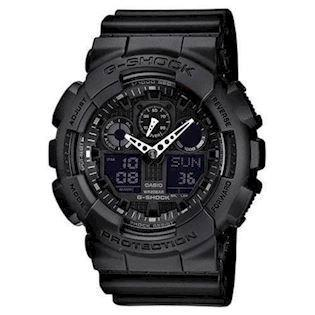 GA-100-1A1ER Casio ALL BLACK G-Shock ur