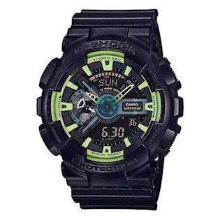 Casio G-Shock sort resin med stål quartz multifunktion (5146) Herre ur, model GA-110LY-1AER