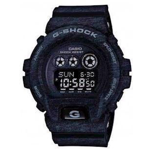 Casio G-Shock grå meleret resin med stål quartz multifunktion (3420) Herre ur, model GD-X6900HT-1ER