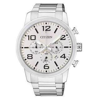 Citizen Basic rustfri stål quartz Herre ur, model AN8050-51A
