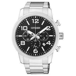 Citizen Basic rustfri stål quartz Herre ur, model AN8050-51E