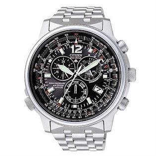 AS4020-52E Citizen Promaster Eco-Drive Chronograph med stållænke