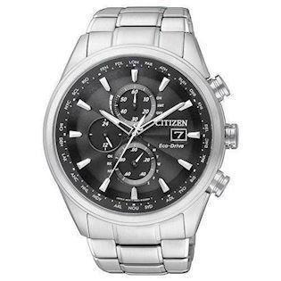 Citizen Eco-Drive herreur med chronograph og radio styring, AT8011-55E