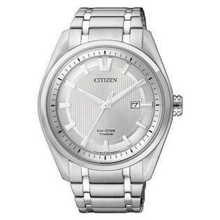 Citizen  titanium quartz med Eco-Drive Herre ur, model AW1240-57A