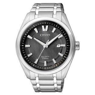Citizen  titanium quartz med Eco-Drive Herre ur, model AW1240-57E