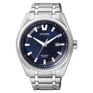 Citizen  titanium quartz med Eco-Drive Herre ur, model AW1240-57L