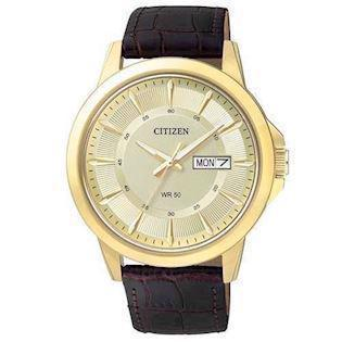 Citizen  forgyldt stål quartz Herre ur, model BF2013-05P