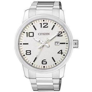 Citizen  mat rustfri stål quartz Herre ur, model BI1020-57A