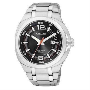 Citizen  mat titanium quartz med Eco-Drive Herre ur, model BM0980-51E