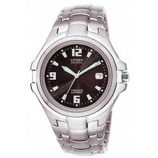 Citizen  titanium quartz med Eco-Drive Herre ur, model BM1290-54F