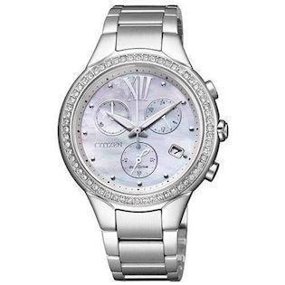 Citizen  mat rustfri stål quartz med Eco-Drive Dame ur, model FB1321-56A