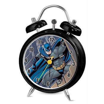 Batman sort stål Quartz Drenge ur, model BAT47DC