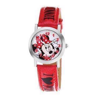 Club Time Minnie Mouse rustfri stål Quartz Pige ur, model DP140-K269