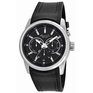 Kenneth Cole  rustfri stål Quartz med chronograph Herre ur, model KC10022534