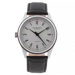 No Watch Revserso ur med sort kalveskinds urrem, CM1-3212