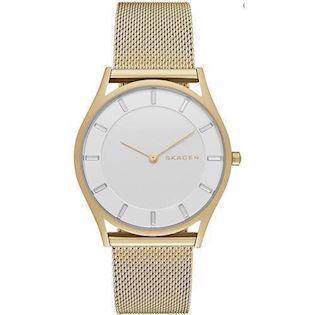 Skagen Holst forgyldt quartz Dame ur, model SKW2377