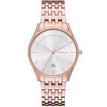 Skagen Holst rosa forgyldt quartz Dame ur, model SKW2388