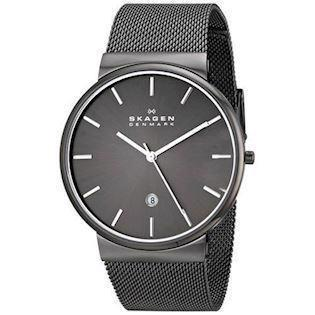 Skagen Ancher rustfri stål Quartz Herre ur, model SKW6108