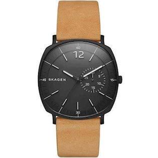 Skagen Rungsted IP sort stål Quartz Herre ur, model SKW6257