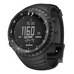 Suunto Core All black stål urkasse quartz multifunktion Herre ur, model SS014279010