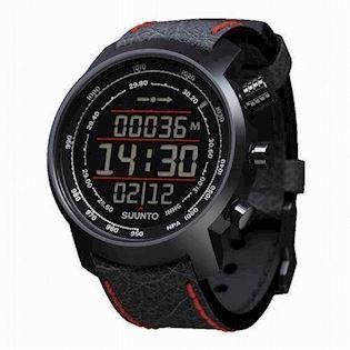 Suunto Elementum Mat sort stål quartz multifunktion Herre ur, model SS019171000