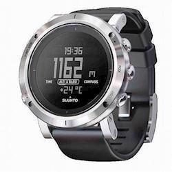 Suunto Core Børstet rustfri stål quartz multifunktion Herre ur, model SS020339000