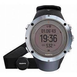 Suunto Ambit3 Sort plast med stål krans quartz multifunktion Unisex ur, model SS020673000