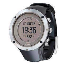 Suunto Ambit3 Peak Sort plast med stål krans quartz multifunktion Herre ur, model SS020676000