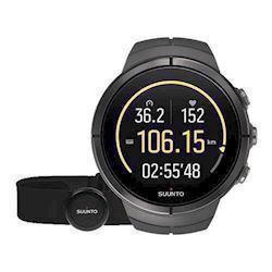 Suunto Spartan Ultra Sort titanium quartz multifunktion Herre ur, model SS022656000