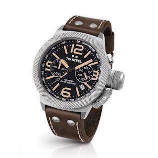 TW Steel 50 mm sort Quartz med chronograph Herre ur, model CS34