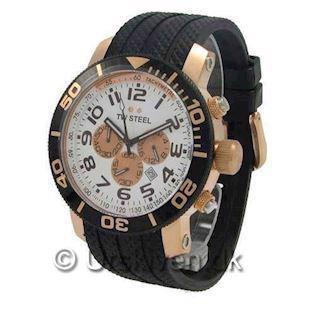 TW 77 TW Steel Grandeur Diver Rose<br>48 mm med Chronograph