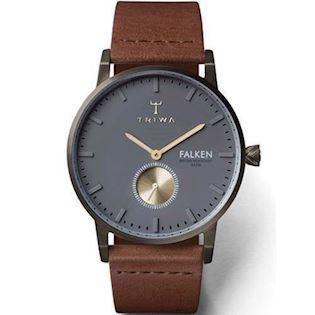 Triwa Falken [TW25] IP sort Quartz Herre ur, model FAST102CL010213