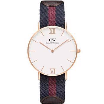 Daniel Wellington Grace London rosa forgyldt quartz Dame ur, model 0551DW