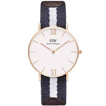 Daniel Wellington Grace Glasgow rosa forgyldt quartz Dame ur, model 0552DW