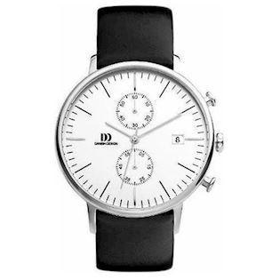 Danish Design  Sølv Quartz med chronograph Herre ur, model IQ12Q975