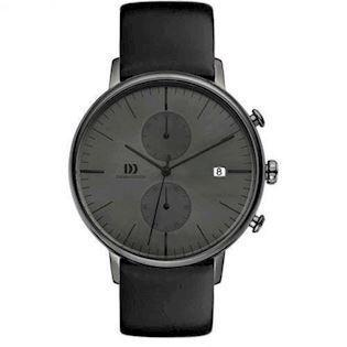 Danish Design  Grå IP Quartz med chronograph Herre ur, model IQ16Q975