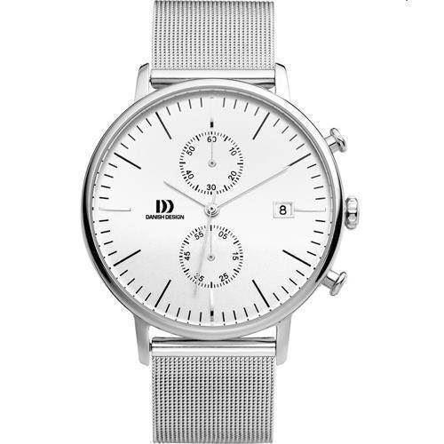 Danish Design  Sølv Quartz med chronograph Herre ur, model IQ62Q975