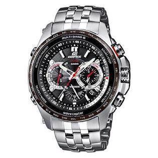 Casio Edifice analog med Tough Solar og Wave Ceptor teknik  Herreur, EQW-M710DB-1A1ER