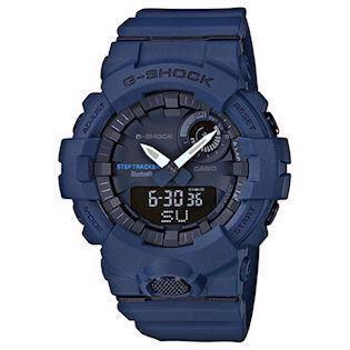 Casio G-Shock blå resin (5554) multifunktions quartz Herre ur, model GBA-800-2AER