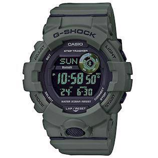 Casio G-Shock armygrøn resin (5554) multifunktions quartz Herre ur, model GBD-800UC-3ER